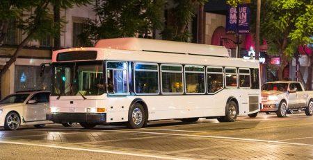 Hempstead, NY - Bus Crashes into Deli on Main St