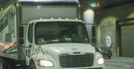 Newark, NJ – One Injured in Rollover Truck Crash on Route 1&9 near I-78 W Ramp