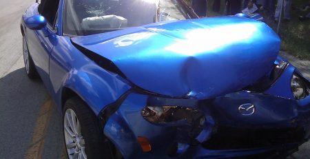 Newark, NJ – Two Injured in Car Crash on S 19th St